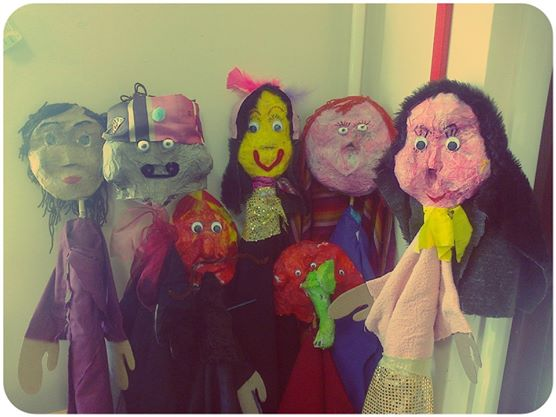 Puppet club puppets