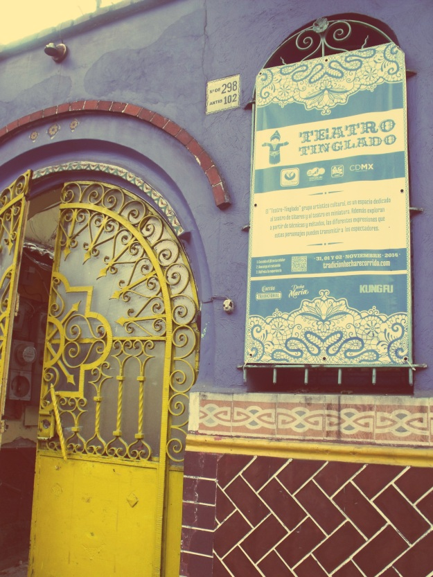 Teatro Tinglado in Coyoacan, Mexico City
